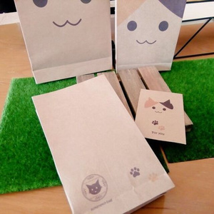 しまじゃない猫紙袋<スタンダード>
