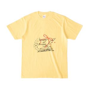 CoCキーパーTシャツ-手記と羽ペン