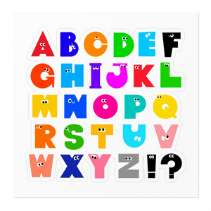 アルファベットステッカー