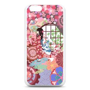 iPhone6ケース-桜と歯車 少女の春
