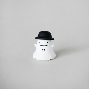 3Dおめかしオバケくん(上向きver.)[フィギュア]