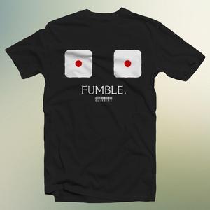 ファンブルTシャツ