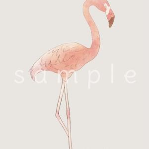 フラミンゴのiPhoneケース