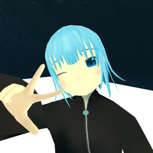 【VRC OculusQuest対応版】オリジナル3Dモデル「男の娘 エリアス ver.Quest」