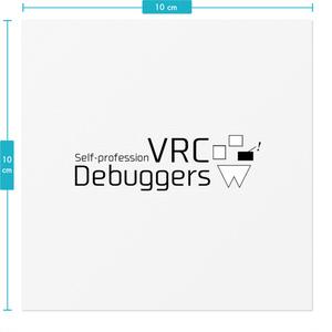 VRC Debuggers ステッカー