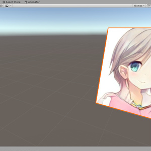 LookingCameraBillboardShader(Unity/VRChat使用可)