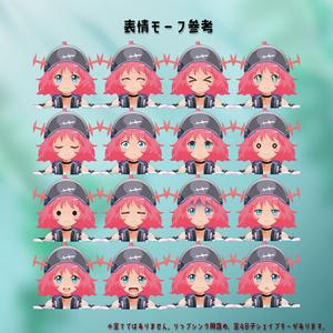 オリジナル3Dモデル『ウパ子』