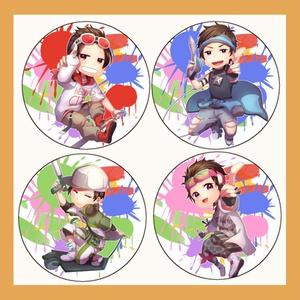 57㎜松缶バッチ~7セット~
