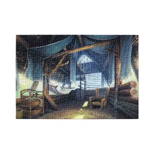 パズル 獣人族の小屋