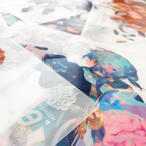 魂音泉10周年記念クリアファイルコレクション(11枚入り)