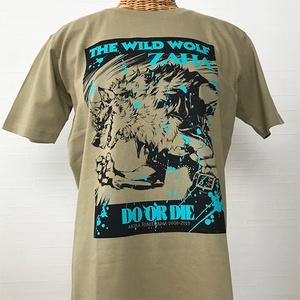 THE WILD LEG Tシャツ サンドカーキ