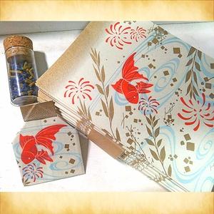 折り紙便箋~瓶詰~
