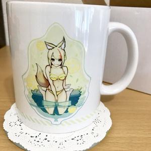 キヌちゃんマグカップ
