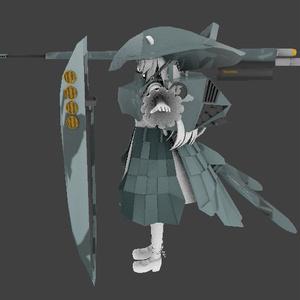 ますきゃっと重装装備セット【VRchat向け3Dモデル】