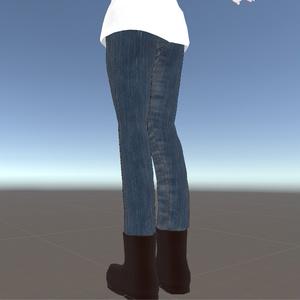 【VRchat想定】タートルネックのふかふか衣装