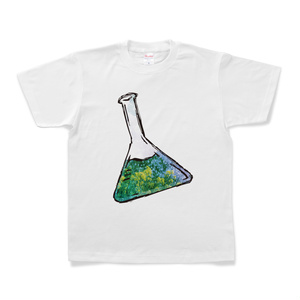 フラスコ菜の花Tシャツ