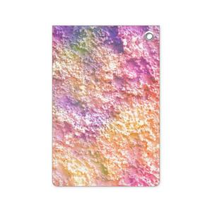 砂模様がかわいいパスケース