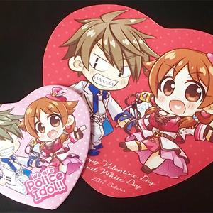 ポリスアイドル缶バッジ+カードセット