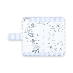 アルフォンス&アレクシスネコスタイル iPhoneカバー(7,8サイズ)