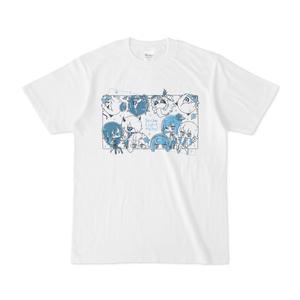 スノウライトメタル白Tシャツ