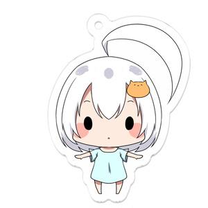 うちの子デフォルメアクキー(猫ピンちゃん)