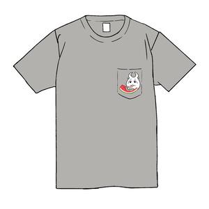 クワガ太郎Tシャツ2019年エディション(ポケットすいかver)