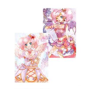 天使×小悪魔 まどかちゃんポストカード2枚セット