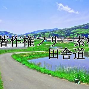 著作権フリー素材(田舎道2)