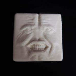 堪忍豆腐 メモスタンド レジン製 特製容器付き