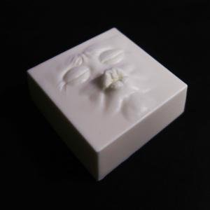 キスごし豆腐 豆腐風フィギュア レジン製 特製容器付き