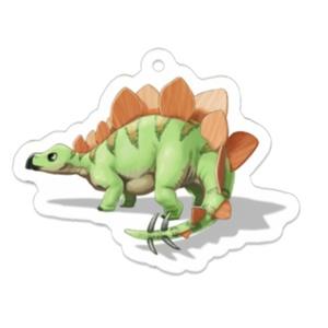 ステゴサウルス アクリルキーホルダー