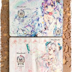 オリキャラ 手帳型スマホカバー(フリーサイズ)