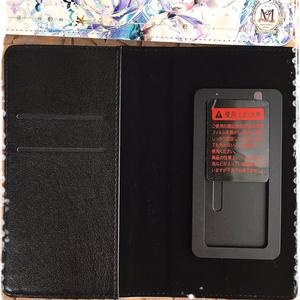 ユニコーン 手帳型スマホカバー(フリーサイズ)