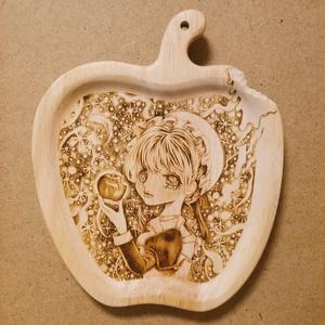 【一点物原画】お嬢様の齧りかけ林檎