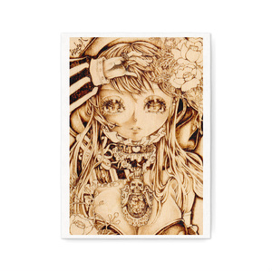 【印刷】「銀の髑髏 feat.DOKURO改」アートキャンバス