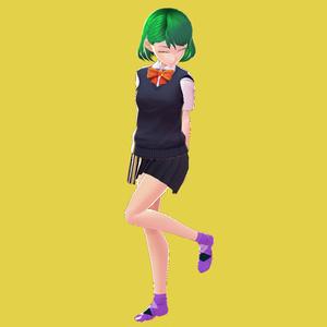 【VRoid用テクスチャ】アーガイルチェックソックス【全5色】