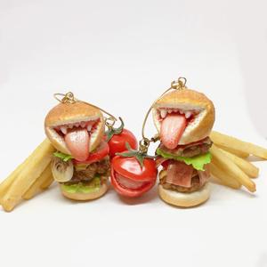 キラーハンバーガーバッグチャーム