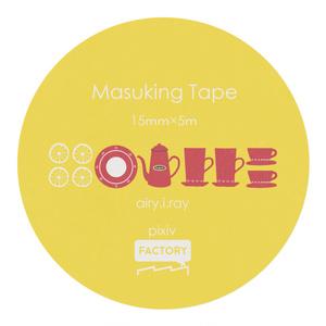 tea マスキングテープ