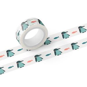 まわらないペンギン マスキングテープ