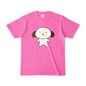 わんたろうTシャツ ピンク