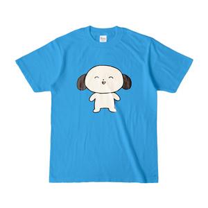 わんたろうTシャツ ターコイズ