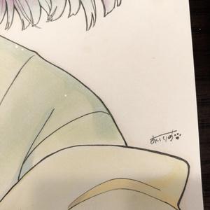 【原画】東方 稗田阿求 B5サイズ