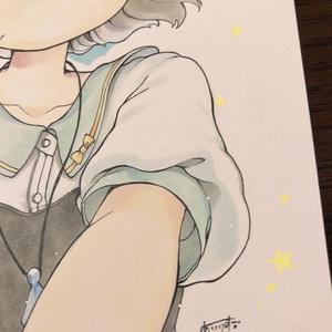 【原画】私服なナズーリンちゃん! B5サイズ