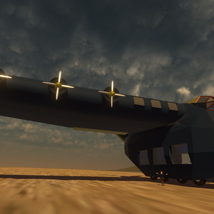 VRChat用航空機「Sano324」※ワールドに置くと飛べるよ!