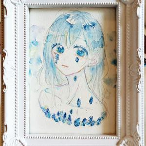 原画 宝石の涙