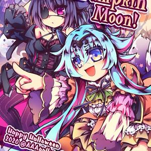 【コミティア134/エアコミティア】<ハロウィン展2020図録>Pumpkin Moon!