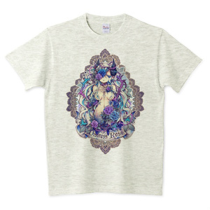 【RVG冬展新作】Distress Rose - Tシャツ<S~XXLサイズ>
