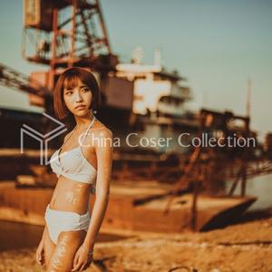甘果-【夕暮れと白水着】【40P】