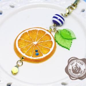 キャラモチーフ柑橘系ストラップ