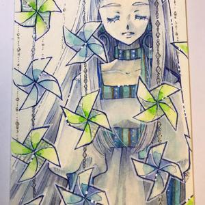 ◆【イラスト原画】風車